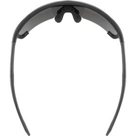 UVEX Sportstyle 707 Glasses black matt/mirror silver